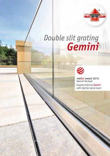 Double slit grating Gemini