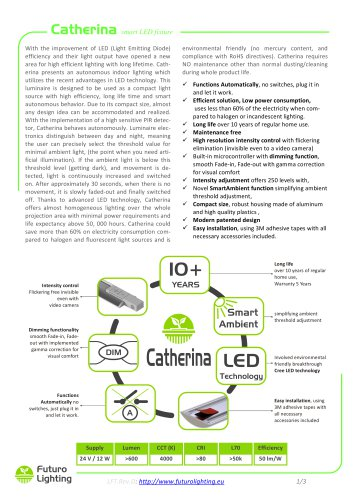 Catherina smart LED fixture