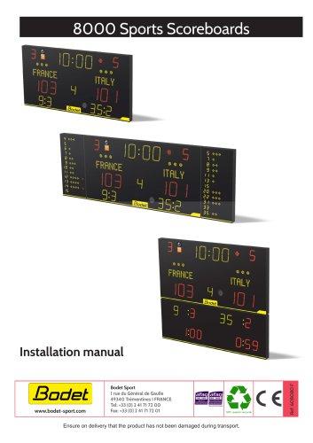 8000 Sports Scoreboards