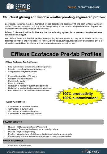 EFFISUS ECOFACADE PRE-FAB PROFILES