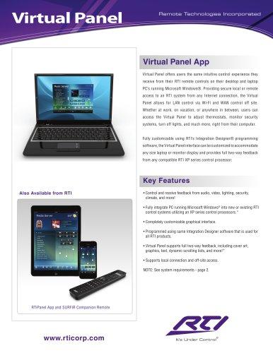 VIRTUAL PANEL APP - PC