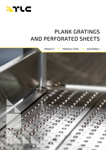 PLANK GRATINGS AND PERFORATED SHEETS
