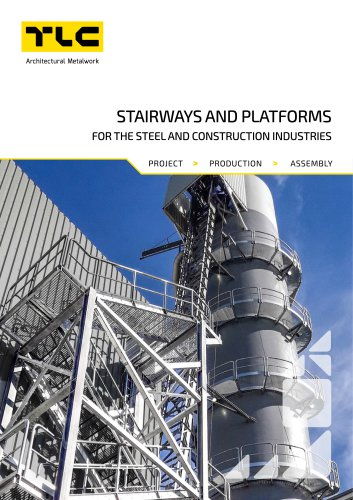 STAIRWAYS AND STEEL PLATFORMS