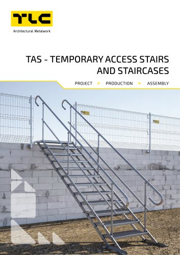 TAS - TEMPORARY ACCESS STAIRS AND STAIRCASES