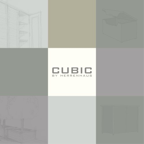 CUBIC BY HERRENHAUS