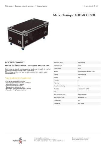 MALLE CLASSIQUE 1600X800X600