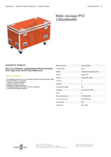 MALLE CLASSIQUE PVC 1200X600X600