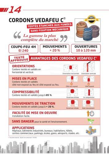 Cordon coupe-feu VEDAFEU C