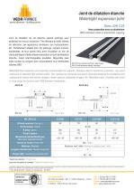 Joint de dilatation étanche - JDH 5.25 - 1