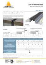 Joint de dilatation de sol - JDH 5.02 - 1