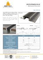 Joint de dilatation de sol - JDH 5.04 - 1