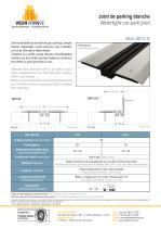 Joint de parking étanche - JDH 5.32 - 1