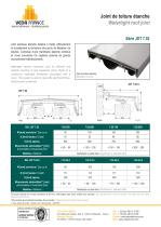 Joint de toiture - JDT 7.02 - 1