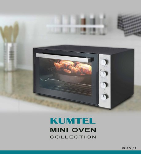 Kumtel Mini Oven 2019 Collection