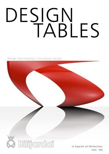 DESIGN billiard tables