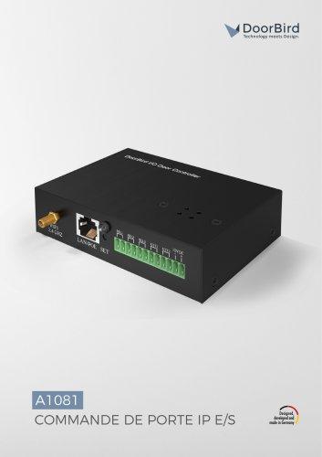 Commande de porte IP E/S A1081