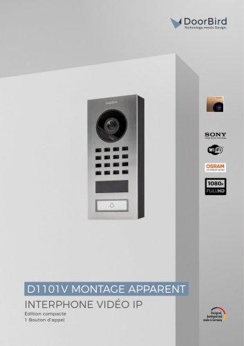 D1101V Montage en saillie