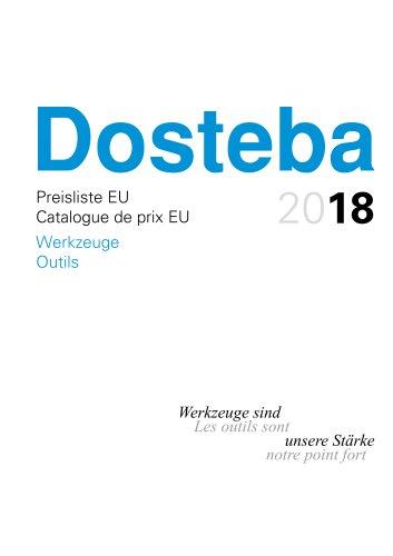 Catalogue de prix OUTILS DE DECOUPE EU