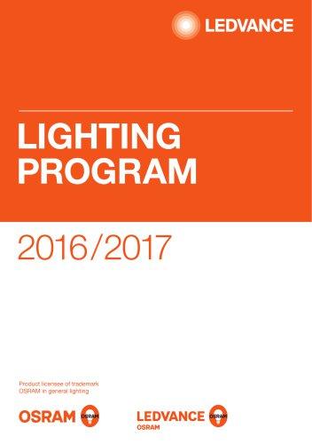 LIGHTING PROGRAM 2016/2017