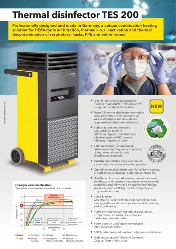 Thermal Disinfector TES 200