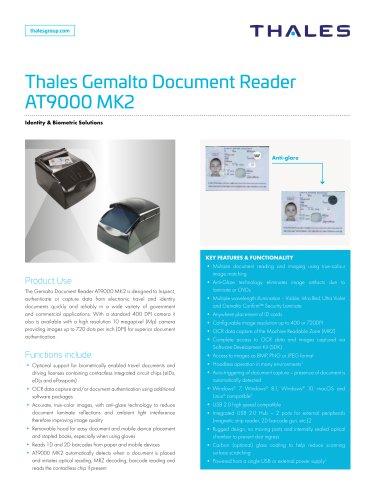 Thales Gemalto Document Reader AT9000 MK2