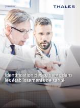 Thales Identification patients sante - 1