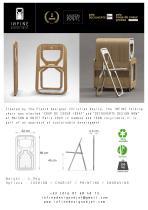 Technical document folding chair INFINE
