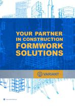YOUR PARTNER IN CONSTRUCTION FORMWORK SOLUTIONS