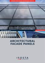 ARCHITECTURAL FACADE PANELS