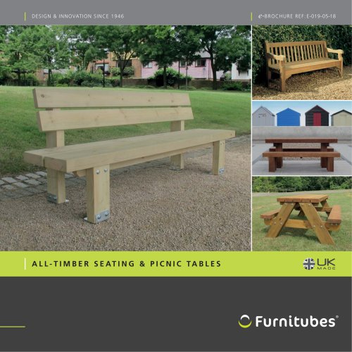 All timber seating range e-brochure
