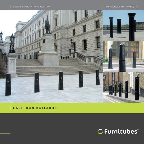 Cast iron bollard e-brochure