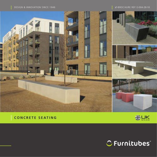 Concrete seating range e -brochure