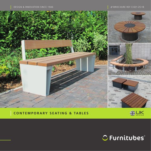 Contemporary seating range e-brochure