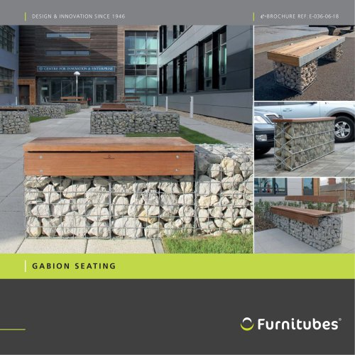 Gabion seating range e-brochure