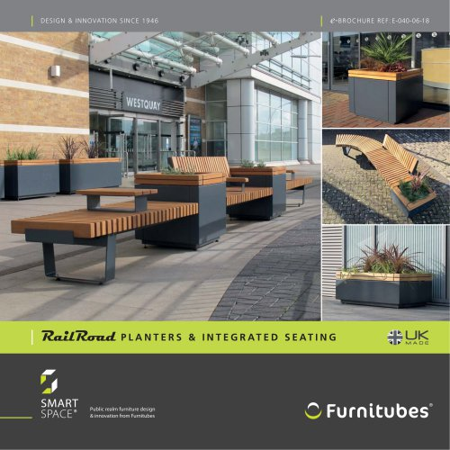 RailRoad seating & planters e-brochure