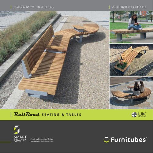 RailRoad seating & table range e-brochure