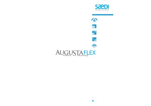 Flexible bollards and posts. Augustaflex