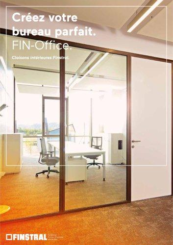 Créez votre bureau parfait. FIN-Office. Cloisons Intérieures Finstral.