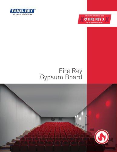 FIRE REY GYPSUMBOARD TDS