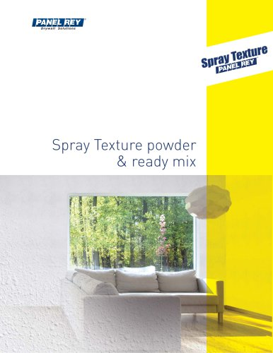 Spray Texture powder & ready mix