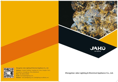 Zhongshan Jako Lighting & Electrical Appliance