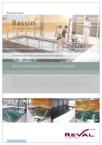 Bassin en acier inoxydable