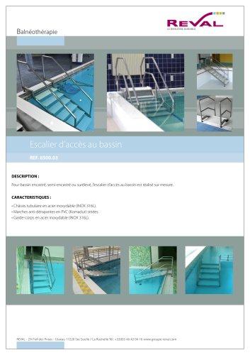 Garde-corps piscine