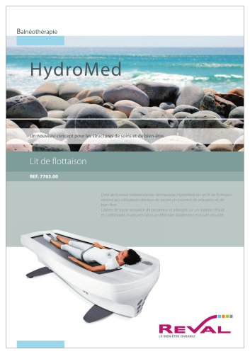 Lit de massage Hydromed