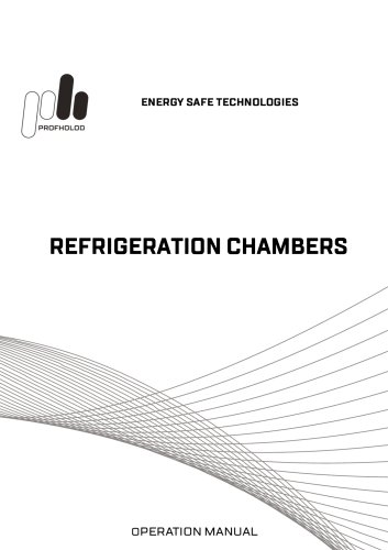 Technical Specifications for Refrigeration Chambers