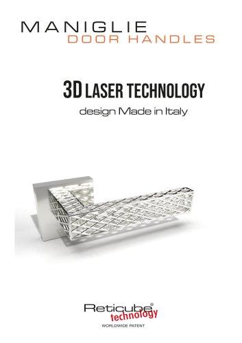 MANIGLIE  - DOOR HANDLES 3D LASER TECHNOLOGY design Made in Italy