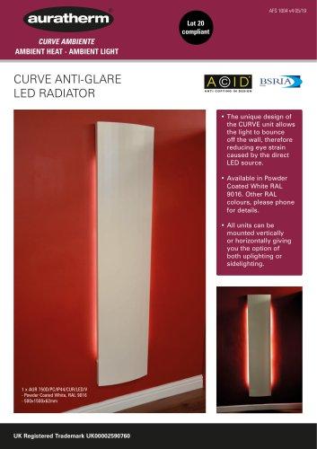 CURVE ANTI-GLARE LED RADIATOR
