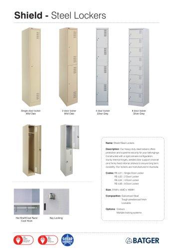 Shield - Steel Lockers