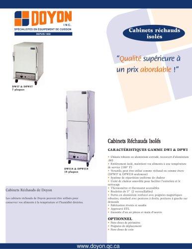 Cabinet Réchaud Isolé DWI18