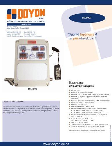 Doseur d'eau DAF001